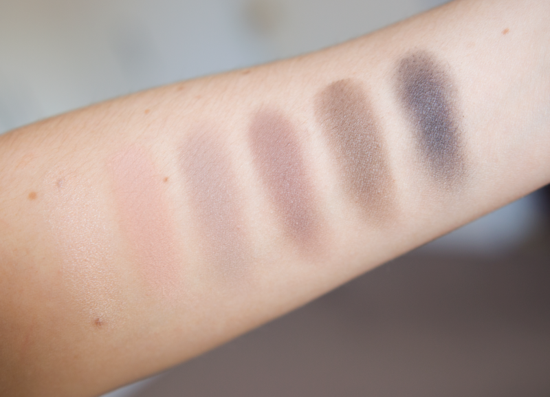 urban decay naked 2 basics palette swatches