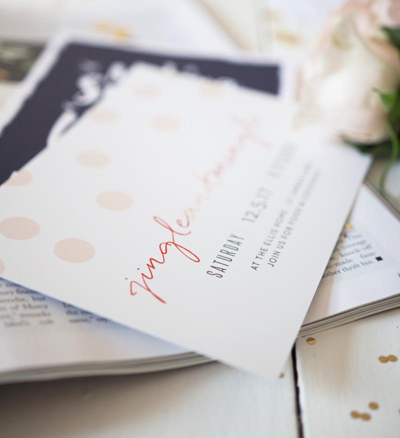 christmas party invitations basic invite