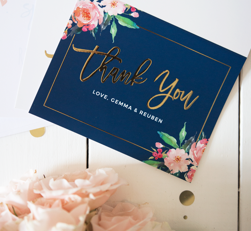 thank you cards basic invite review