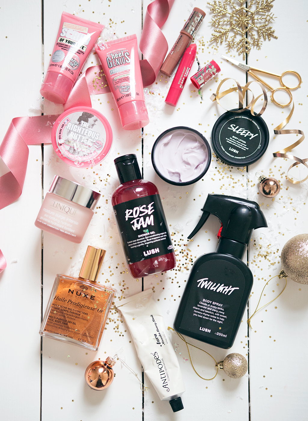 indulgent treats gift guide pamper treats