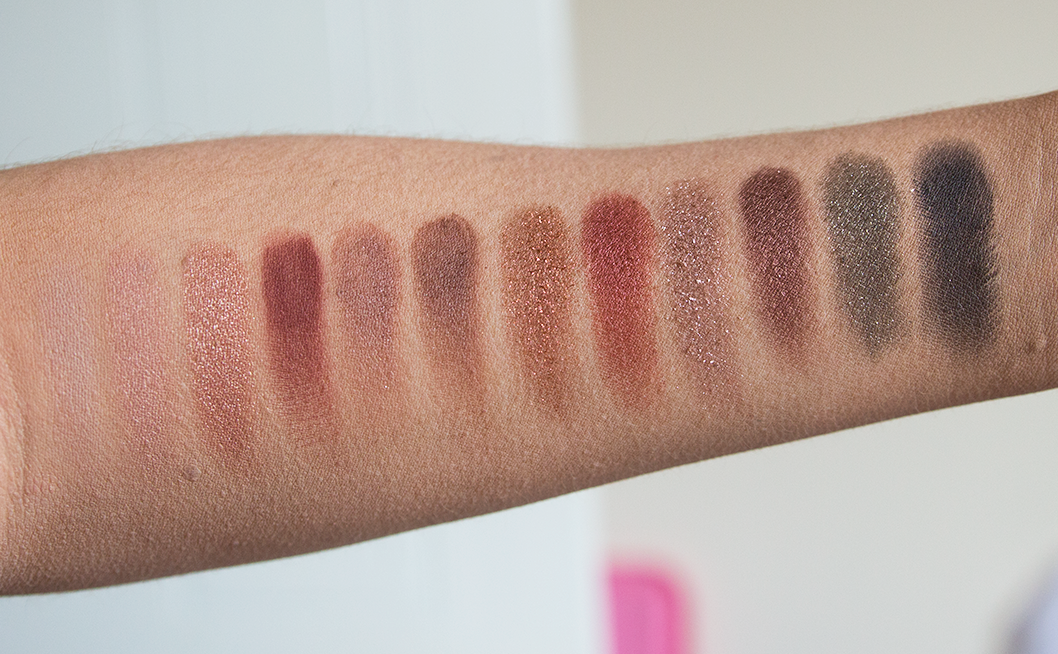 nars wanted palette review and swatches