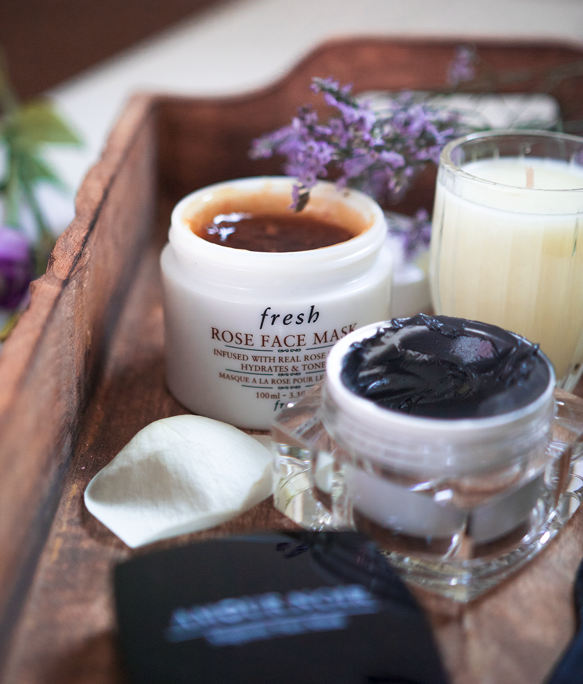 face mask top five favourites fresh rose amour noir magnetic mask masque bar gold foil mask lush cup o' coffee mask scrub