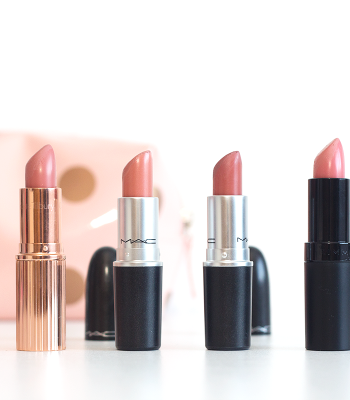 My Favourite Nude Lipsticks