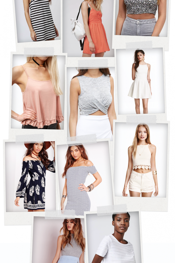 Spring Wardrobe Edit.