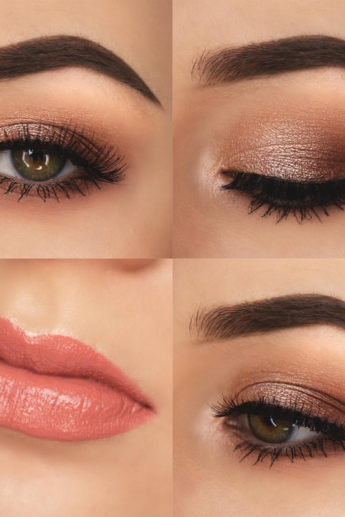 Frosty Eyes & Pink Lips.