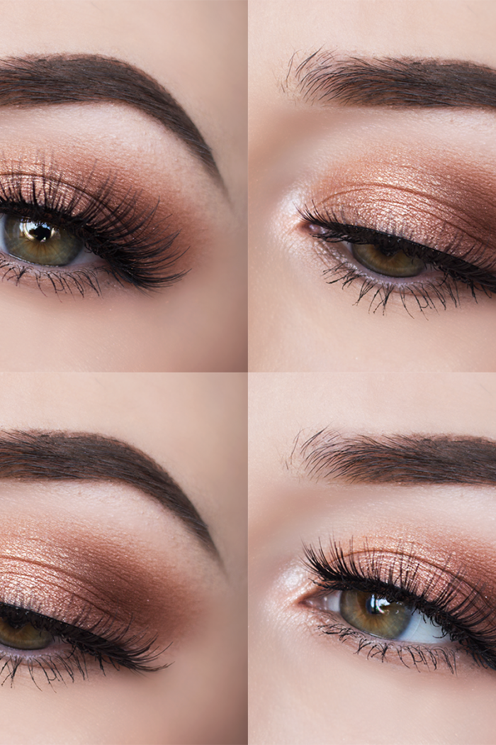Smokey Peach Eyes.
