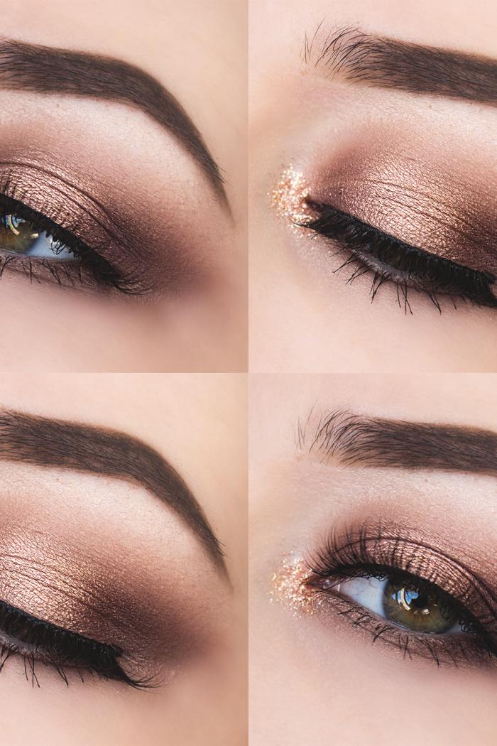 Glittery Autumn Eyes.