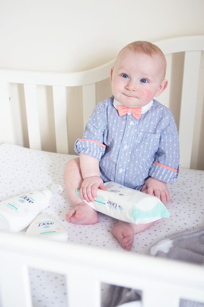 Baby Dove For Baby Skin.
