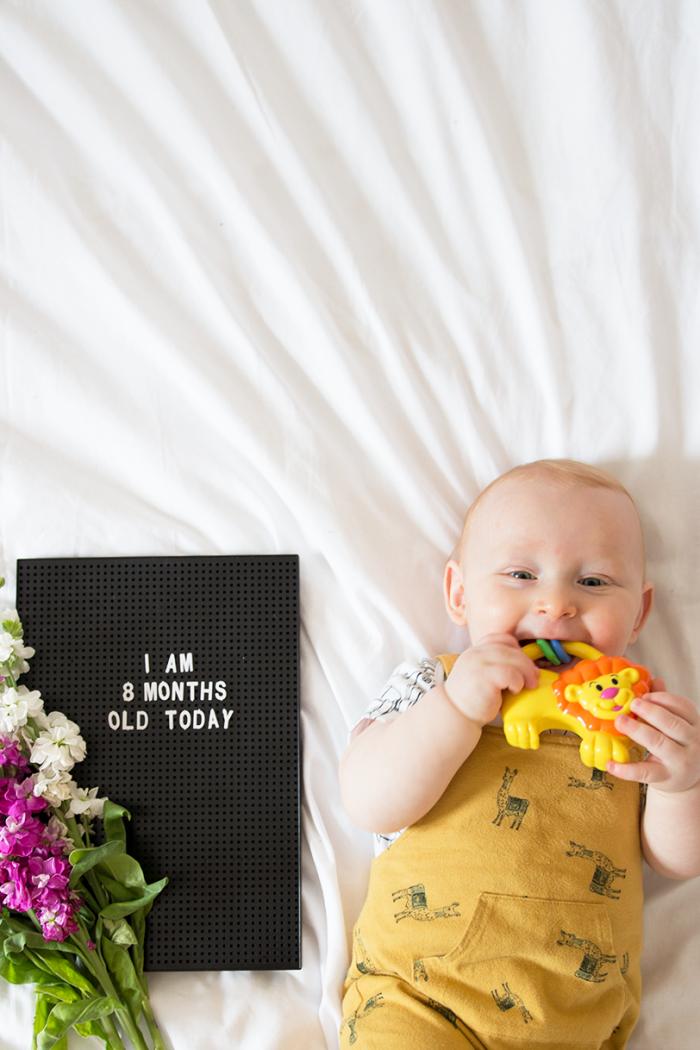 Reuben Oliver: 8 Month Update.