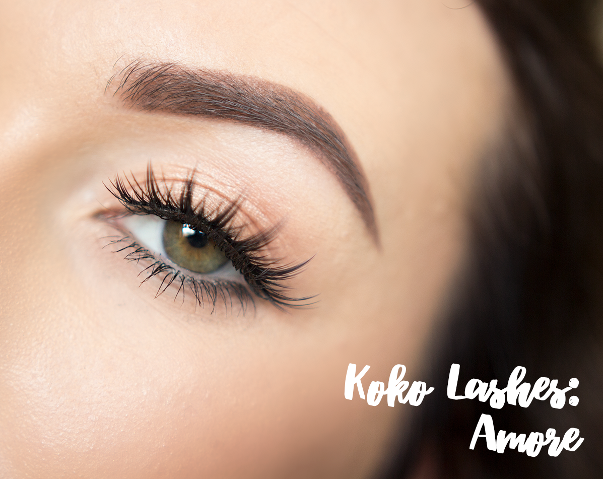 koko lashes in amore