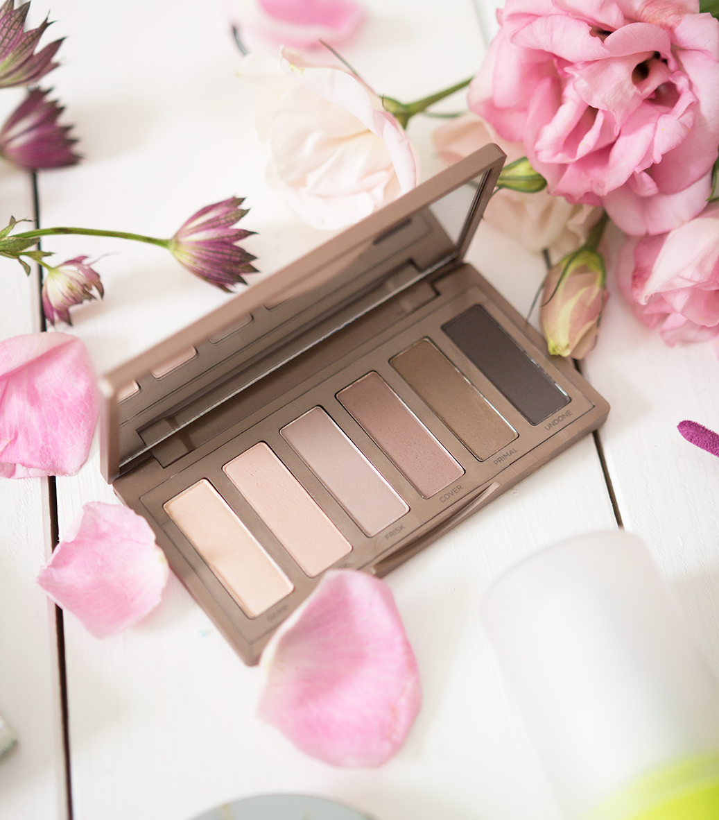 urban decay naked 2 basics palette review and swatches