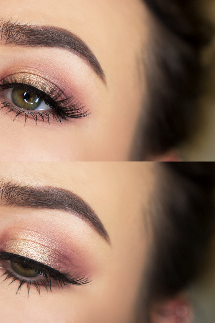 Transitional Autumn Eye Makeup.
