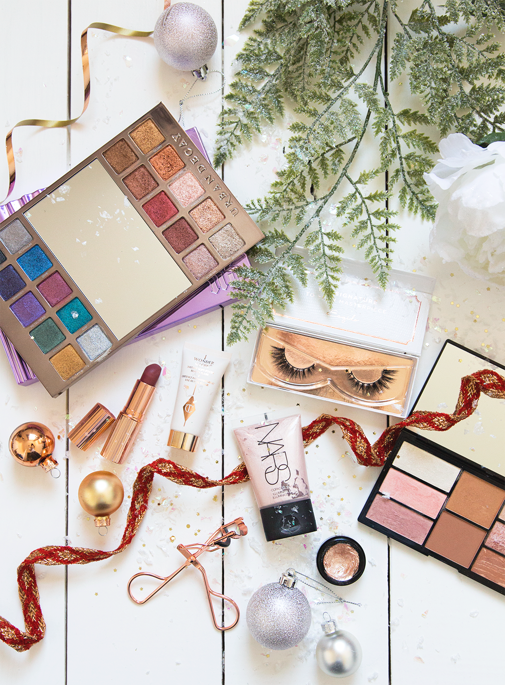 festive party picks christmas makeup