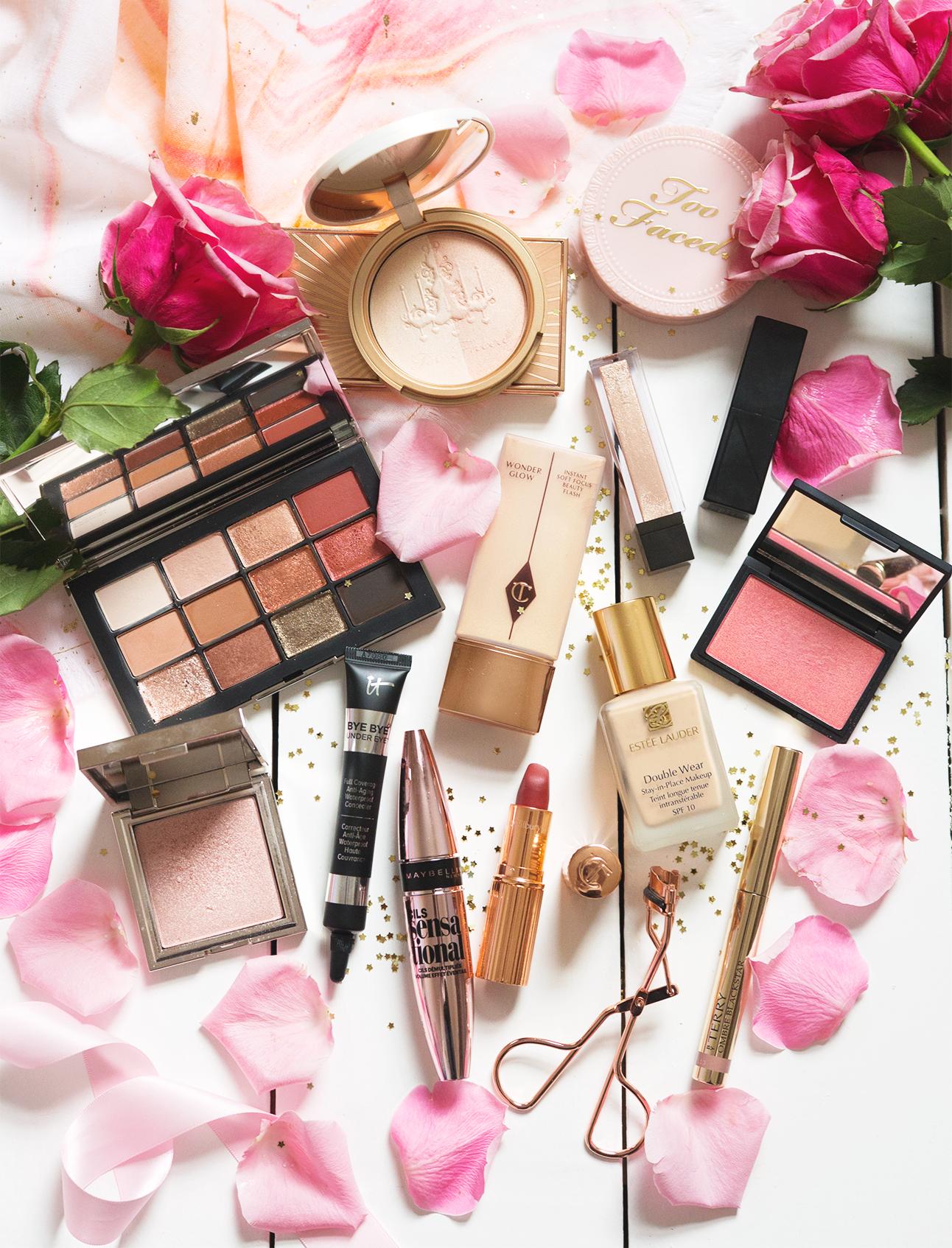 Valentines makeup date night makeup look