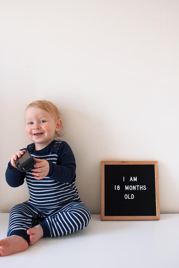 18 Months of Reuben Oliver.