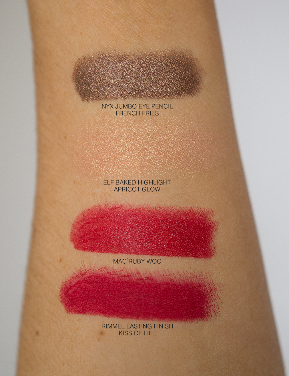 Five Drugstore Picks, Swatches