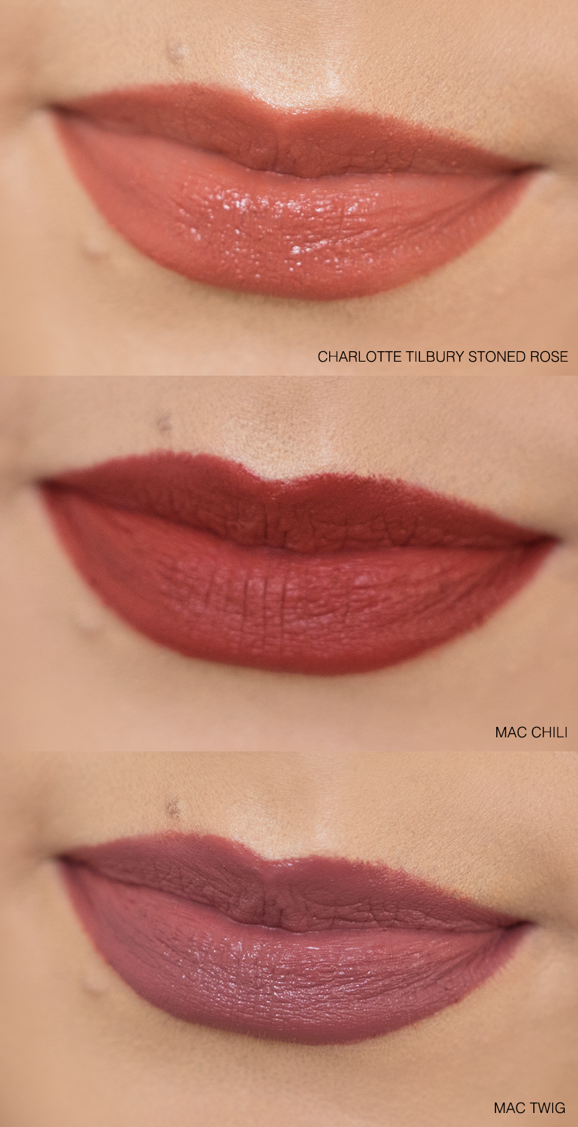 Three Autumn Lipstick Faves