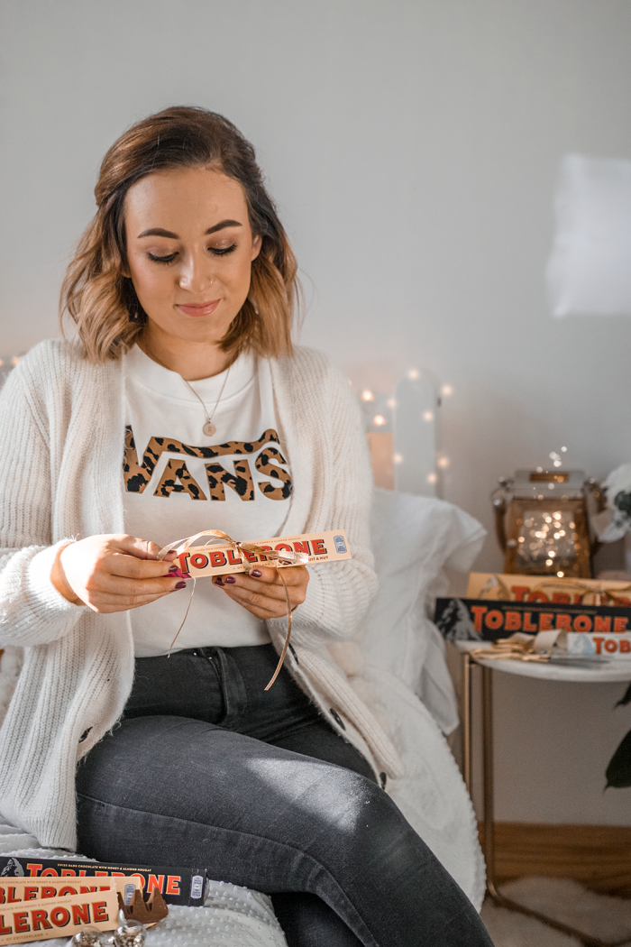 Christmas Gifts With Toblerone. #AD