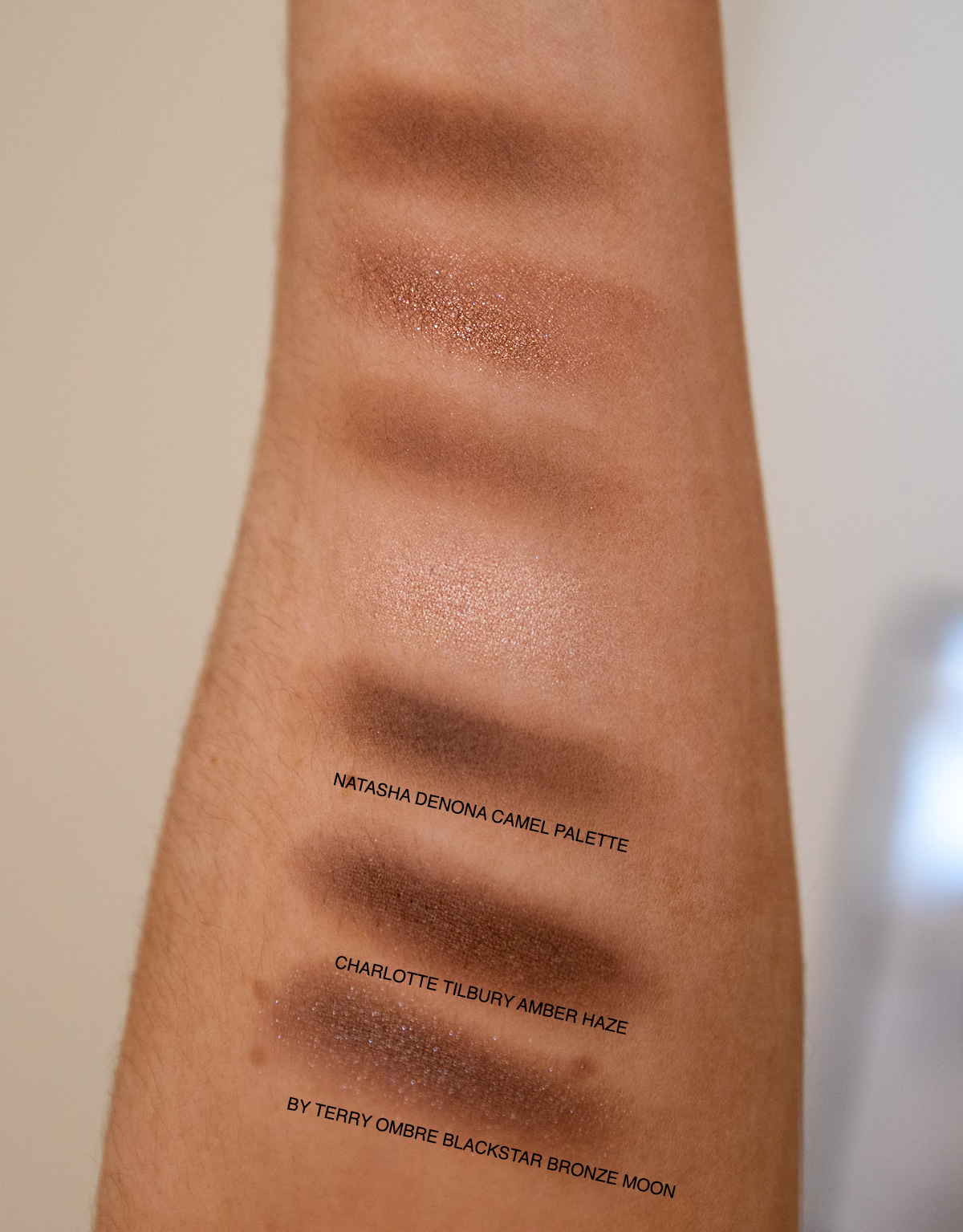 Bronze Eyeshadow Favourites