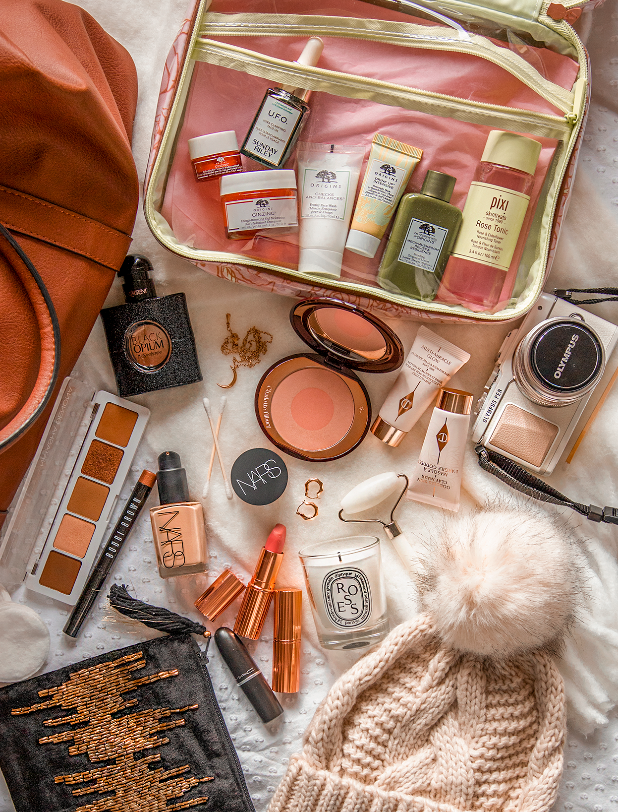 Travel Beauty Staples