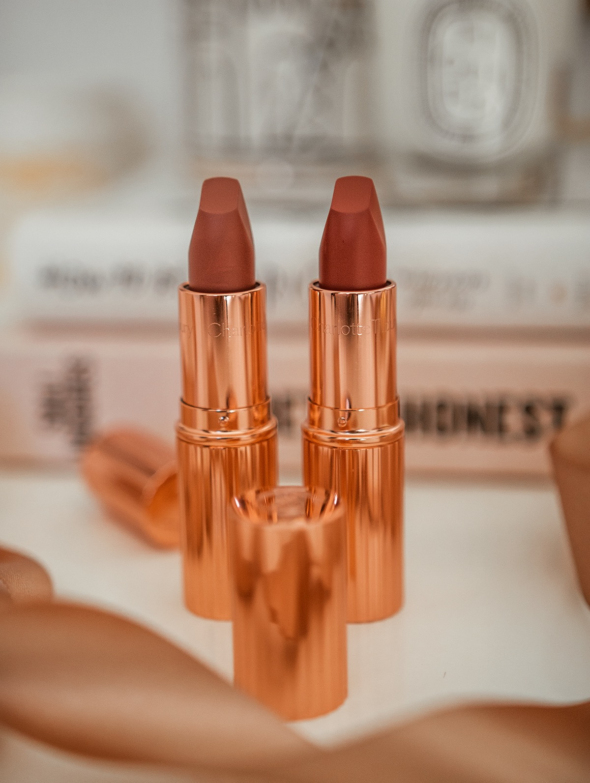 Charlotte Tilbury Limited Edition Super Model Lipsticks Review & Swatches