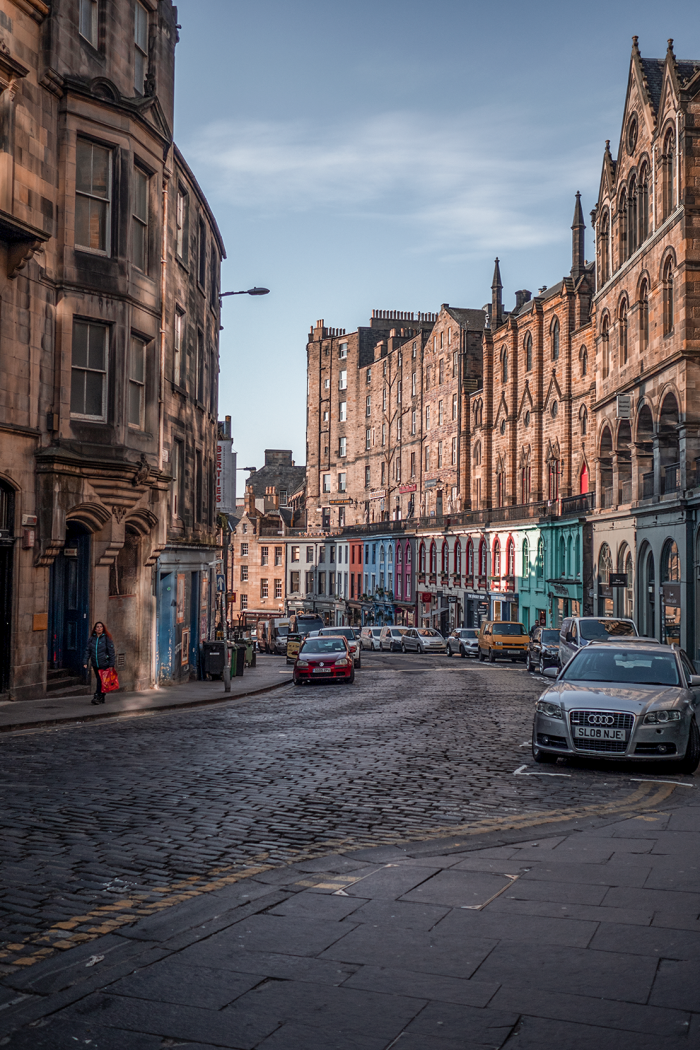 A Weekend In Edinburgh.
